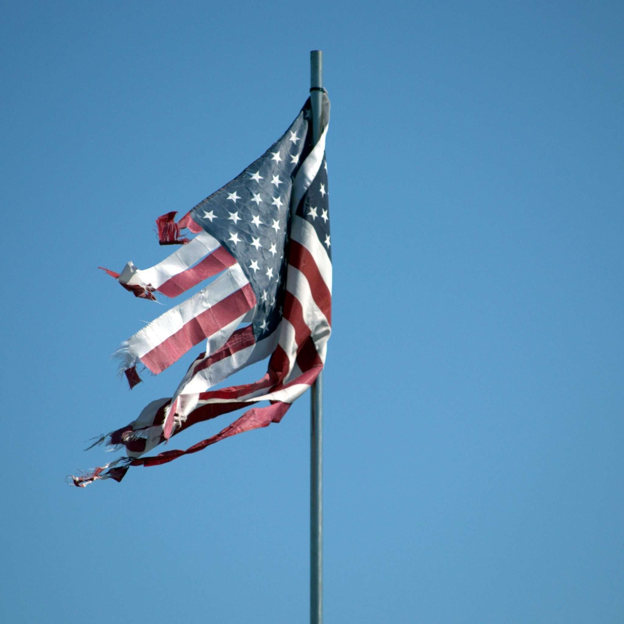 tattered flag the shiny butter blog
